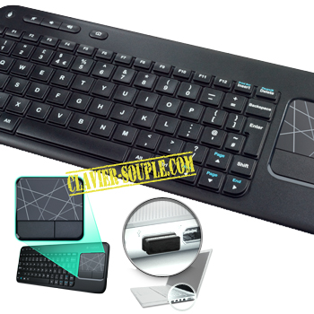 clavier bluetooth pave tactile