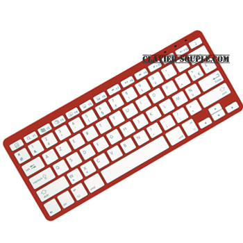 clavier apple bluetooth rouge mac ipad iphone